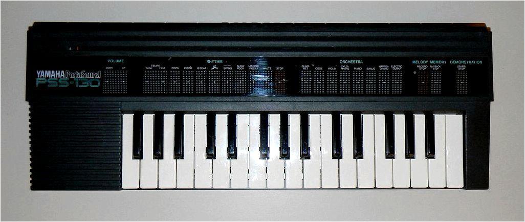 Analog Relics. Yamaha PSS-120 & PSS-130