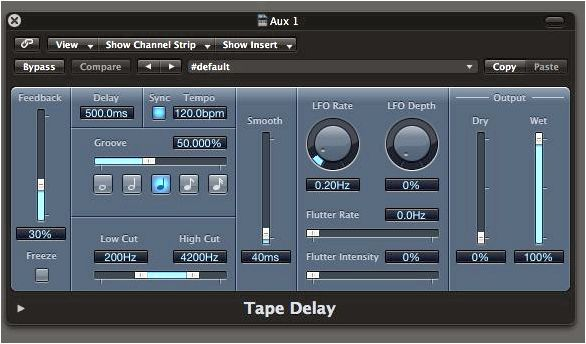 Automated Delay Effects