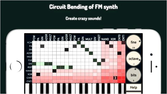 bent.fm lite: circuit bending software 4+