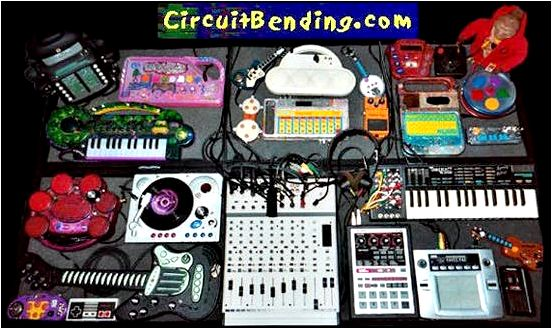 Circuit bending. Orgy Of Noise – Bill T Miller – NYC Voodoo – Circuit Bent !