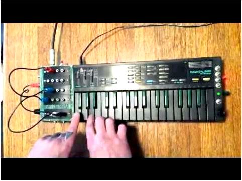 Circuit Bent Casio SK-1 Keyboard Sampler superb sample