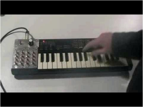 Circuit Bent Casio SK-1 Keyboard Sampler