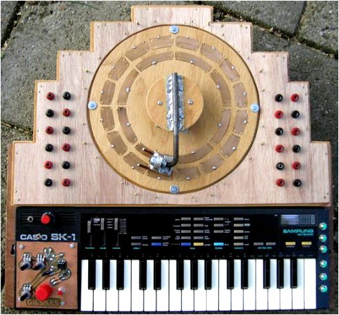 Circuit Bent Instruments Drum machines, synths and