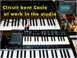Circuit Bent Instruments and Sounds using CS Breakthroughs class on