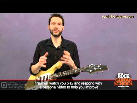 Guitar Training with Paul Gilbert: String Bending you want to