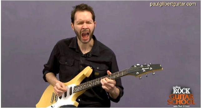 Guitar Training with Paul Gilbert: String Bending so when adding