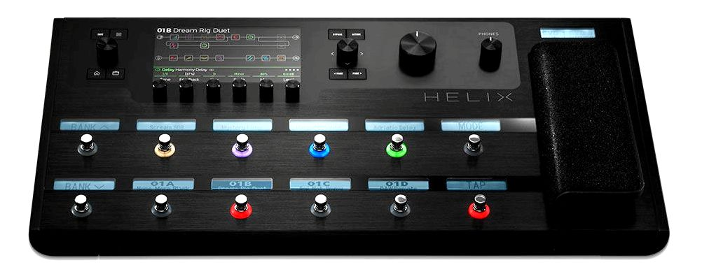Line 6 Helix deep MIDI control