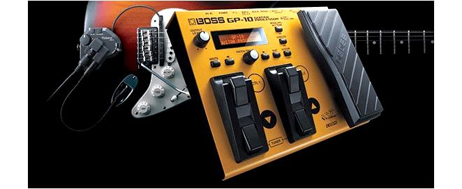 New BOSS GP-10 Guitar Processor