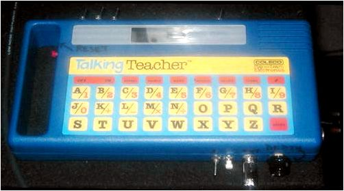 Speaking teacher circuit bent