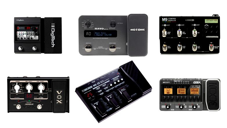 ten best Multi Effects Pedals: Your Buyer's Guide (2018)