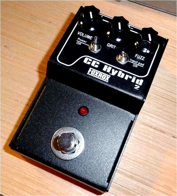 The Germanium Hybrid Fuzz pedal… technical stuff