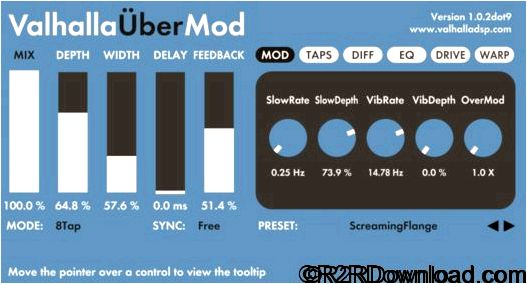 UberMod feature demands 1k for instance via oversampling