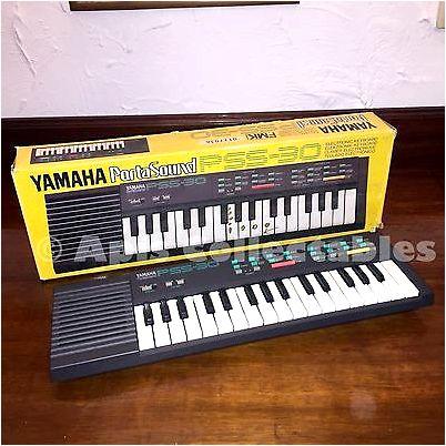 Yamaha PSS-560 and 570